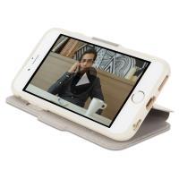 Moshi SenseCover - Etui z klapką dotykową iPhone 6s / iPhone 6 (piaskowy)