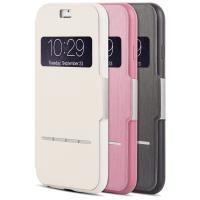 Moshi SenseCover - Etui z klapką dotykową iPhone 6s / iPhone 6 (różowy)