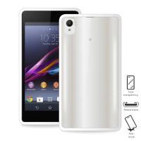 PURO Clear Cover - Etui Sony Xperia Z2 (biały)