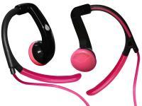 PURO Sport Stereo Earphones - Słuchawki sportowe (różowy)