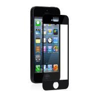 Moshi iVisor XT - Przezroczysta folia ochronna Full Face iPhone SE / iPhone 5s / iPhone 5c / iPhone 5 (czarny)