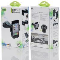 iGrip Universal HRX Kit - Uniwersalny uchwyt samochodowy do smartfonów o szer. 44 - 84 mm