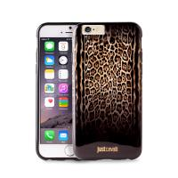 JUST CAVALLI Leopard Double Cover - Etui iPhone 6s / iPhone 6 (brązowy)