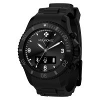 MyKronoz ZeClock - Analogowy Smartwatch Bluetooth 4.0 + monitor aktywności fizycznej (czarny)