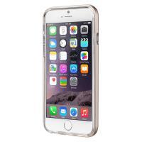 Laut EXOFRAME - Etui iPhone 6s / iPhone 6 z aluminiową ramką z 2 foliami na ekran w zestawie (Gold)