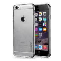 Laut EXOFRAME - Etui iPhone 6s / iPhone 6 z aluminiową ramką z 2 foliami na ekran w zestawie (Space Grey)