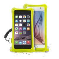 """PURO Nieprzemakalne etui smartphone/phablet max. 5.7"""" + kieszeń na kartę (żółty)"""
