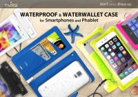 """PURO Nieprzemakalne etui smartphone/phablet max. 5.1"""" (biały)"""