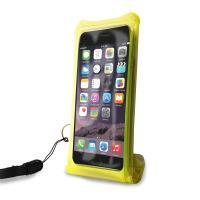 """PURO Nieprzemakalne etui smartphone/phablet max. 5.1"""" + kieszeń na kartę (żółty)"""