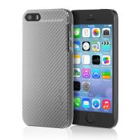 Incipio CF Feather Case - Etui iPhone SE / iPhone 5s / iPhone 5 (Silver)