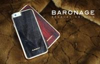 BUSHBUCK BARONAGE Special Edition - Etui skórzane do iPhone 6s / iPhone 6 (szary)