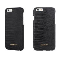 BUSHBUCK LIZARD Leather Case - Etui skórzane do iPhone 6s / iPhone 6 (czarny)