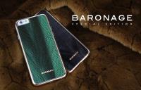 BUSHBUCK BARONAGE Special Edition - Etui skórzane do iPhone 6s Plus / iPhone 6 Plus (zielony)