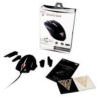 Gamdias Erebos Optical - Mysz dla graczy z wymiennymi panelami (3500 DPI)