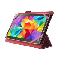 PURO Universal Booklet Easy - Etui tablet 8'' w/Folding back + stand up + Magnetic Closure (różowy)