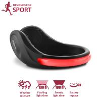 PURO Safety LED Clip - Ostrzegawczy sportowy klips na buta z czerwonym światłem LED