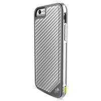 X-Doria Defense Lux - Aluminiowe etui iPhone 6s / iPhone 6 (Silver Carbon)