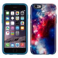 Speck CandyShell Inked - Etui iPhone 6s / iPhone 6 (Red Pattern/Tahoe Blue) zastępuje SPK-A3071