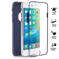 PURO Total Protection Cover - Etui iPhone 6s / iPhone 6 (granatowy)