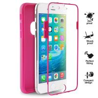 PURO Total Protection Cover - Etui iPhone 6s / iPhone 6 (różowy)