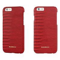BUSHBUCK LIZARD Leather Case - Etui skórzane do iPhone 6s / iPhone 6 (czerwony)