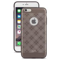 Moshi iGlaze Tartan - Etui iPhone 6s Plus / iPhone 6 Plus (Tartan Walnut)