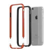 Moshi iGlaze Luxe - Etui z aluminiową ramką iPhone 6s / iPhone 6 (Alloy Orange)