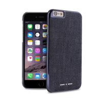 ITALIA INDEPENDENT Denim - Etui iPhone 6s / iPhone 6 (granatowy)