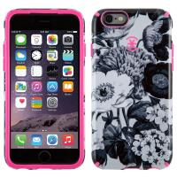 Speck CandyShell Inked - Etui iPhone 6s / iPhone 6 (Vintage Bouquet Grey/Shocking Pink)