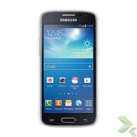 Geffy - Etui Samsung Galaxy Core Duos TPU mat clear