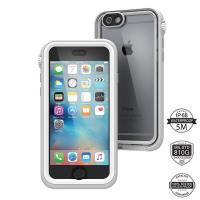 Catalyst Waterproof Case - Etui wodoszczelne + smyczka iPhone 6s / iPhone 6 (Mist Gray)