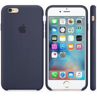 Apple Silicone Case - Silikonowe etui iPhone 6s / iPhone 6 (nocny błękit)