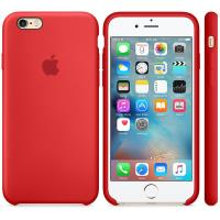 Apple Silicone Case - Silikonowe etui iPhone 6s / iPhone 6 (czerwony) (PRODUCT)RED