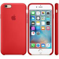 Apple Silicone Case - Silikonowe etui iPhone 6s / iPhone 6 (czerwony) (PRODUCT)RED