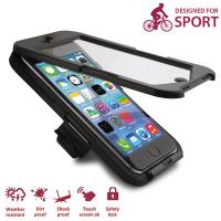 PURO Bike Case W/Bike Holder - Etui i uchwyt rowerowy iPhone 6s / iPhone 6
