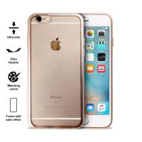 PURO Satin Cover - Etui iPhone 6s / iPhone 6 (Gold)