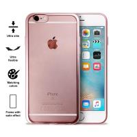 PURO Satin Cover - Etui iPhone 6s / iPhone 6 (Rose Gold)