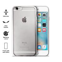 PURO Satin Cover - Etui iPhone 6s / iPhone 6 (Silver)