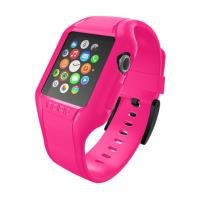 Incipio NGP Strap - Elastyczny pasek do Apple Watch 38mm (różowy)
