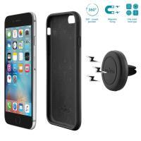 PURO Magnetic Car Holder - Uchwyt samochodowy z etui i magnesem iPhone 6s / iPhone 6