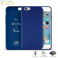 PURO ICON Cover - Etui iPhone 6s / iPhone 6 (Dark Blue)