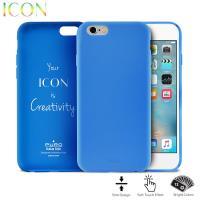 PURO ICON Cover - Etui iPhone 6s / iPhone 6 (Light Blue)