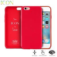 PURO ICON Cover - Etui iPhone 6s / iPhone 6 (Red)