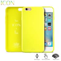 PURO ICON Cover - Etui iPhone 6s / iPhone 6 (Fluo Yellow)