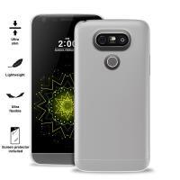 """PURO Ultra Slim """"0.3"""" Cover - Zestaw etui + folia na ekran LG G5 (półprzezroczysty)"""