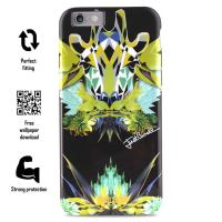 JUST CAVALLI Leo Giraffa Cover - Etui iPhone 6s / iPhone 6 (czarny)