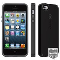 Speck CandyShell - Etui iPhone SE / iPhone 5s / iPhone 5 (Black/Slate Grey)