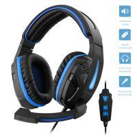 1Life Cyber 7.1 - Słuchawki dla graczy virtual 7.1 surround z mikrofonem (czarny/niebieski)