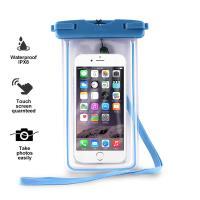 """PURO Waterproof Case - Nieprzemakalne etui smartphone/phablet max. 5.7"""" (niebieski)"""