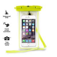 "PURO Waterproof Case - Nieprzemakalne etui smartphone/phablet max. 5.7"" (limonkowy)"